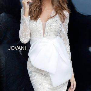 Jovani Dress Long Sleeve Lace Cocktail Dress